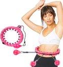 Yaqubi - fitness Hoelahoep - INCLUSIEF TELLER - hoelahoep - weighted hula hoop - volwassenen hoelahoeps - 1,7 kg