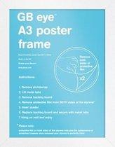 Wissellijst - Fotolijst - Houten  Witte Rand -  Formaat A3 - 29.7x42 cm