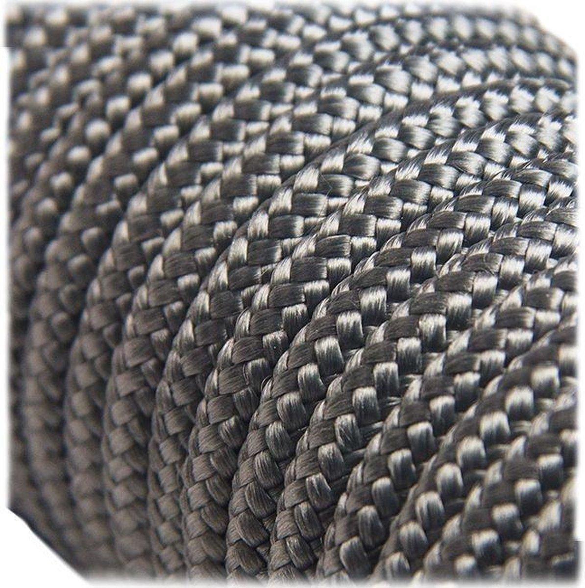 6MM PPM - Cement Grey - 10 meter - #030- dubbel gevlochten