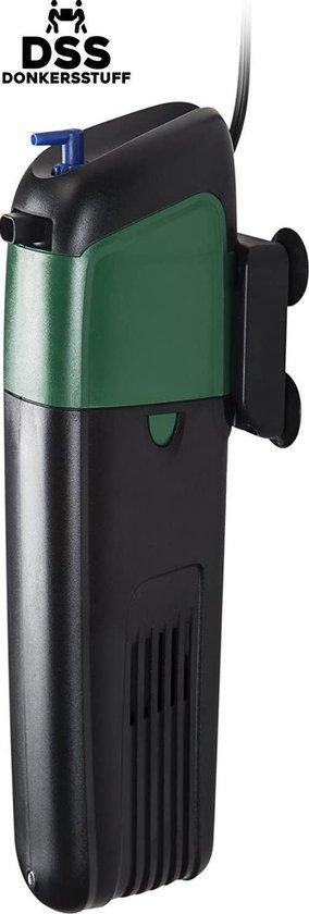Donkersstuff - Aquarium Filter - Aquariumfilter - UV filter - Aquarium Pomp - Aquarium Luchtpomp - Zwart met Groen