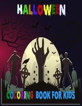 Halloween Coloring book For Kids: 50 + Halloween Coloring Pages for Boys and Girls