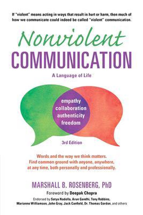 Nonviolent Communication 3rd Ed
