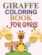 Giraffe Coloring Book For Girls