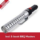 BBQ Aansteker BBQ Accesoires BBQ Starter Looftlighter - One Minute Lighter - Elektrische Bbq Aansteker - Incl. E-book BBQ Masters - FURNA®