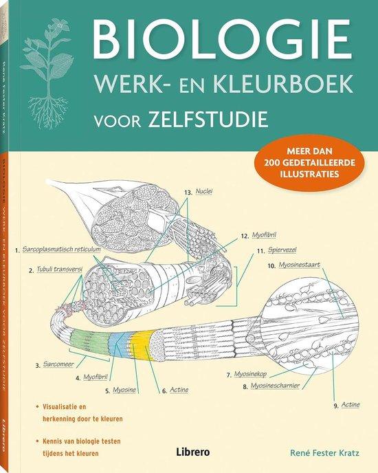 Biologie werk- en kleurboek voor zelfstudie - Rene Fester-Kratz  