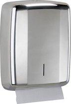Lensea handdoekjesdispenser gemaakt van roestvrij staal tot 400 handdoekjes