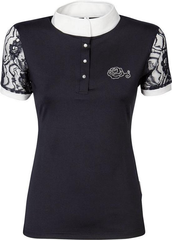 Harry's Horse Wedstrijdshirt Lace L navy