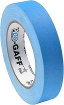 Pro Gaff neon gaffa tape 24mm x 22,8m blauw