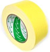 Nichiban   -  duct tape    -  50 mm x 25 m   -  Geel
