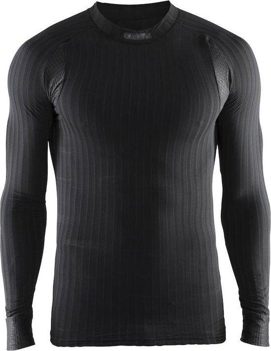 Craft Active Extreme 2.0 Cn Ls M 1904495 - Sportshirt - Black - Heren - Maat XS