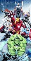 Marvel Avengers Polyester Strandlaken - 70 x 140 cm - Multi