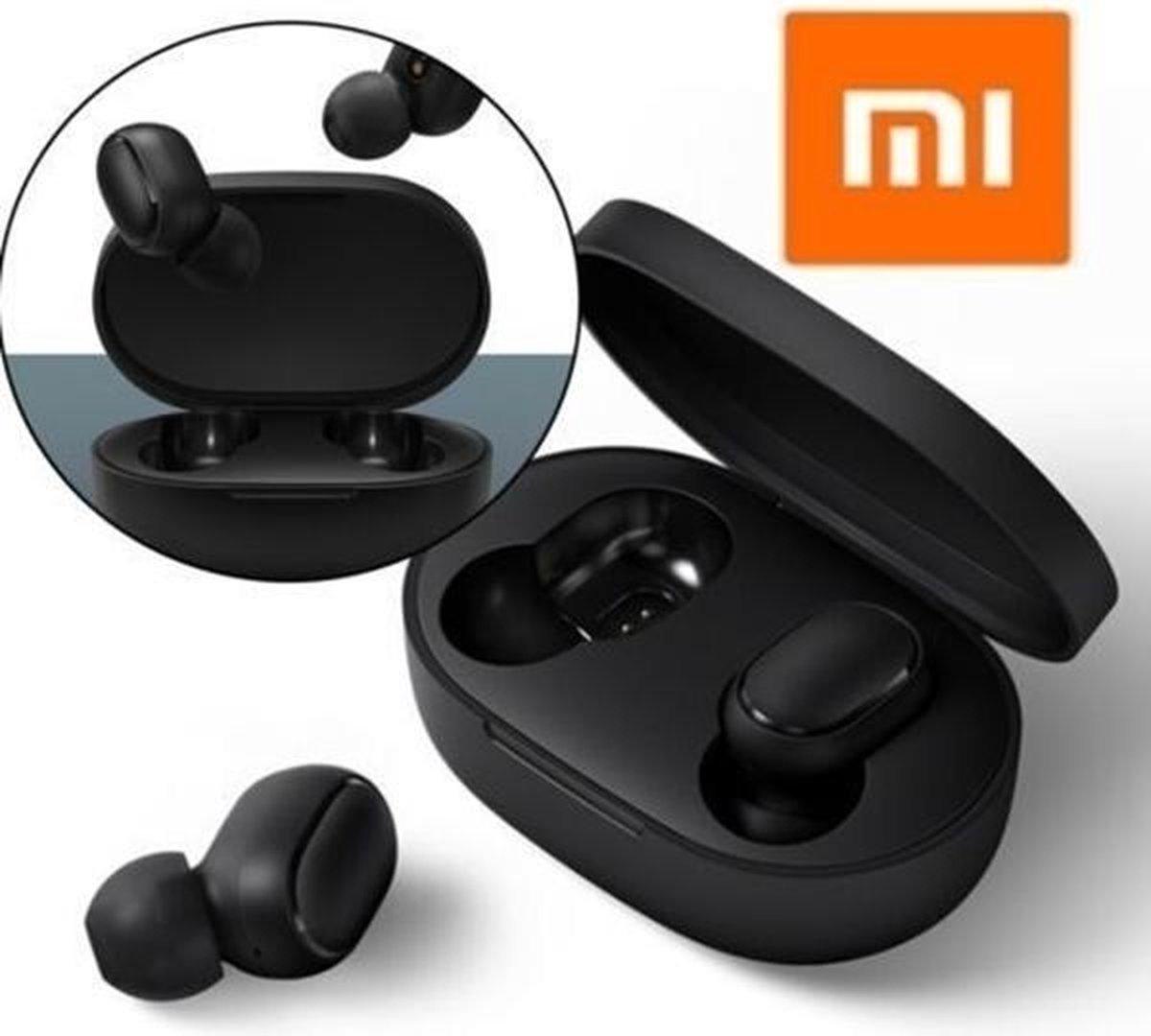 Xiaomi Earbuds – Bluetooth Oordopjes – Wireless Earbuds – In Ear – Oortjes Draadloos – Voor tijdens het Sporten – Zwart IOS/Android