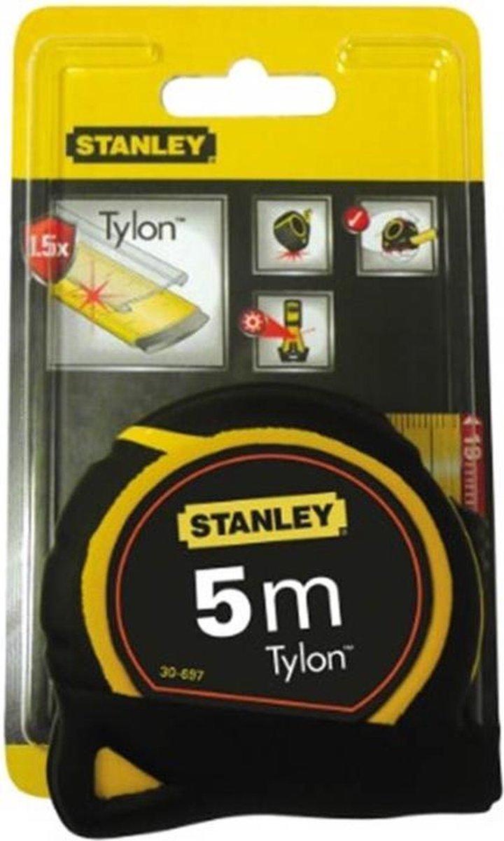 STANLEY 0-30-697 Rolbandmaat Tylon - lengte 5m - breedte 19 mm