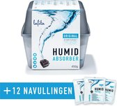 Lafita Vochtvanger Starterset 450 gram - Voordeelpakket met 12 Navullingen ! - Refresh Your Life