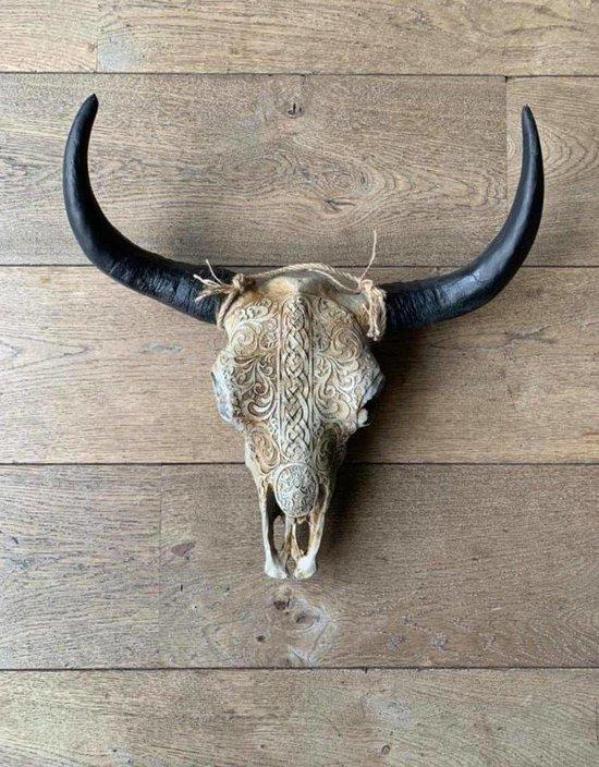 Bol Com Skull Buffelschedel Skull Skull Voor Aan De Muur Buffelschedel Wanddecoratie