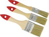 TQ4U Set van 3 kwasten voor lak, beits, (muur)verf, lijm | wegwerp | breedte 20 - 30 -50 mm