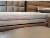 Hotel topper 180x220 Koudschuim HR45 STEVIG! 10cm dik met cool & fresh hoes