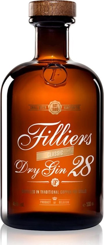 Filliers Dry Gin 28 - 1 x 50 cl