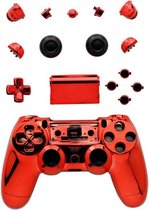 PS4 Controller Shell PRO V1 Rood Chrome