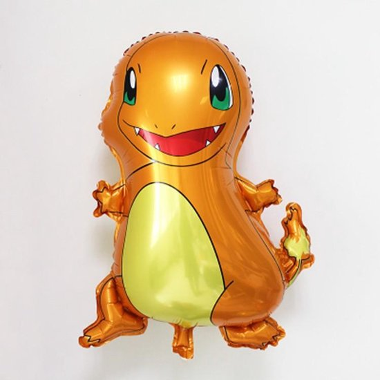Pokemon ballon, Charmander, Ballon, Kinderballon, Folieballon, Pokémon, Reuze ballon 60 x 50 cm