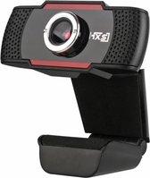 Webcam - HD - 720p - Microfoon - Verstelbare lens - Thuiswerk - Meeting - vergadering - zakelijk bedrijf - PC - USB