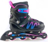 Inline Skate roze/blauw maat 31-34