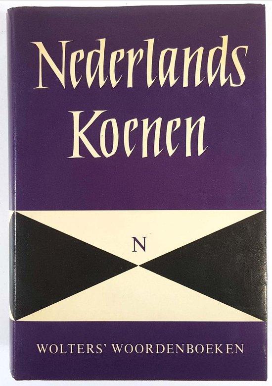 WOORDENB NT KOENEN NEDERLANDS - Wolters Groningen |