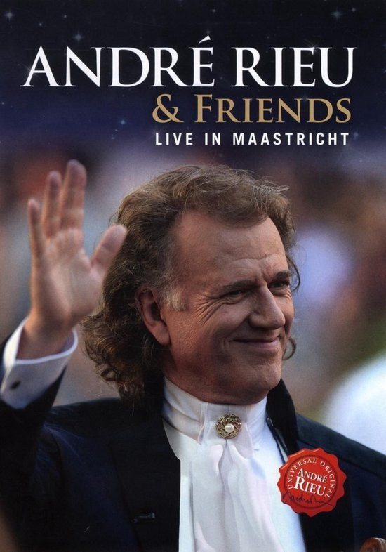 CD cover van Andre Rieu & Friends Live in Maastricht (VII) van Rieu, André