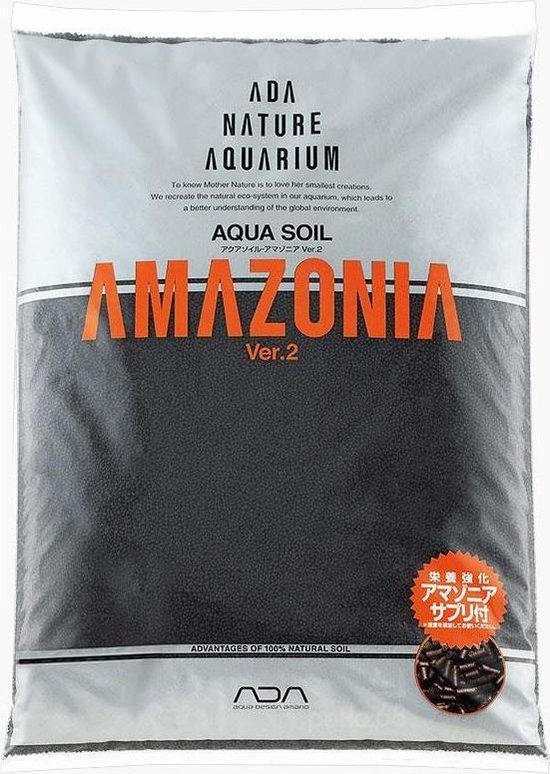 Ada Amazonia soil Ver. 2 - Aquarium bodem - pH & kH verlagend - 9 Liter