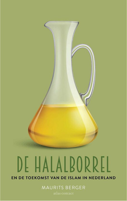 Boek cover De halalborrel van Maurits Berger (Paperback)