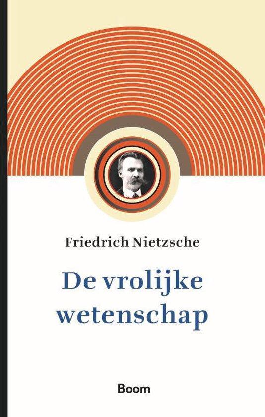Boek cover De vrolijke wetenschap van Friedrich Nietzsche (Paperback)