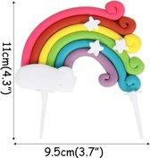 Cake topper Regenboog  |Rainbow | Regenboog taart versiering | DM-products