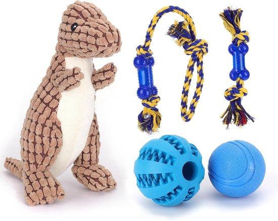 Nobleza honden speelgoed set - 5 stuks
