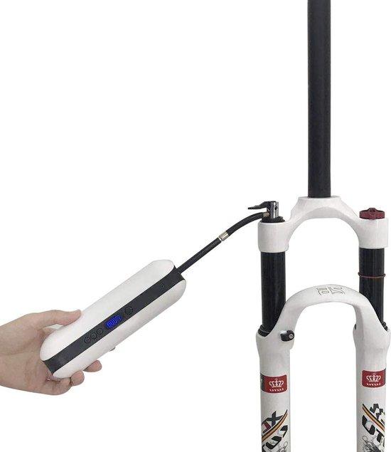 Elektrische Fietspomp – Bandenpomp Compressor – Scooter Pomp - Draagbaar banden oppompen