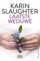 Boek cover Laatste weduwe van Karin Slaughter