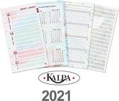 Afbeelding van Kalpa 6218-21 Personal-Standaard organizer week agenda Dreamnotes EN-NL 2021