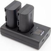 ChiliPower LP-E6N Canon USB Duo Kit - Camera accu set