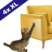 Huisdieren Krabschade Bescherming van Morgiana | 4 Stuks XL | Bankbeschermer | Krabpaal | Meubelbescherming | Bescherming Tegen Krab Schade Katten en Honden | Anti Krabben | Krabpaal voor Katten