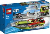 LEGO City Raceboottransport - 60254