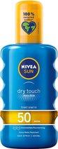 NIVEA SUN Zonnebrand - Protect & Refresh Transparant Zonnespray - SPF 50 - 200 ml