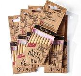 NextBrush bamboe ragers 1,9 mm - 48 stuks (ISO 0)