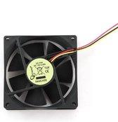 Gembird Ventilator (case fan) voor in de PC met glijlager - 80 x 80 x 25 mm