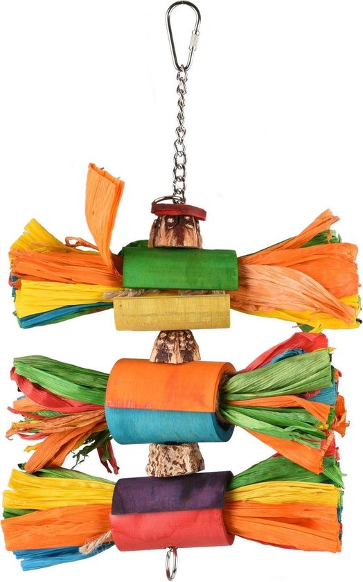 Vogelspeelgoed Kooihanger Rainbow Art - Multicolor