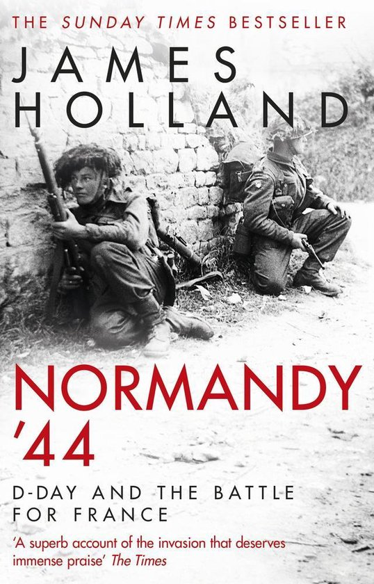 Boek cover Normandy 44 van James Holland (Paperback)