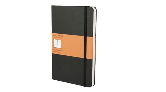 Afbeelding van Moleskine Classic Notitieboek Hard cover - Large - Zwart - Lijnen