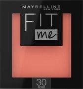 Maybelline Fit Me Blush - 30 Rose - Roze - Natuurlijk Ogende Rouge