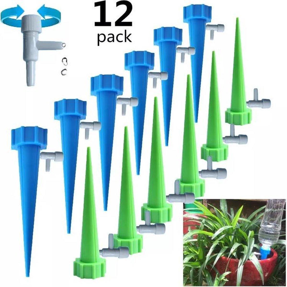 12 stuks plant bewateringssysteem | Waterdruppelaar | Druppelsysteem |Bewateringssysteem | Bewaterin