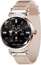 SmartWatch - Vrouwen Horloge - Goudkleurig