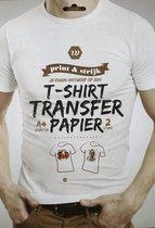 Afbeelding van T-shirt transfer papier - Transfer papier voor kleding/textiel speelgoed
