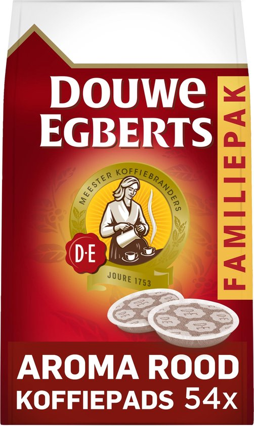 Douwe Egberts Aroma Rood koffiepads - voor in je SENSEO® machine - 4 x 54 pads
